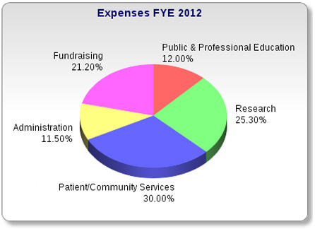 Expenses FYE 2012