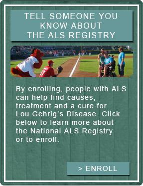 Enroll in the ALS Registry